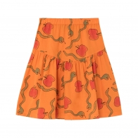 Turkey Apples&Snakes skirt orange