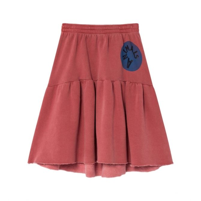 The Animals Observatory Cat Animals skirt red