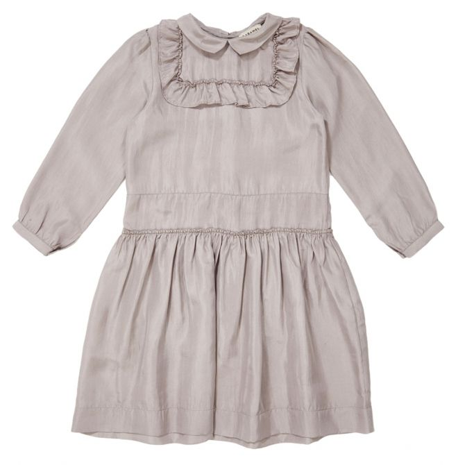 Caramel Baby & Child Dress Nemesis grey