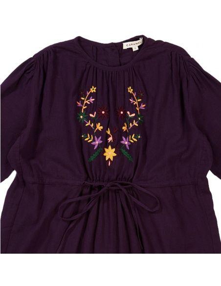 Caramel Baby & Child Sukienka Phoebe fioletowa