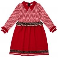Zeus Dress red