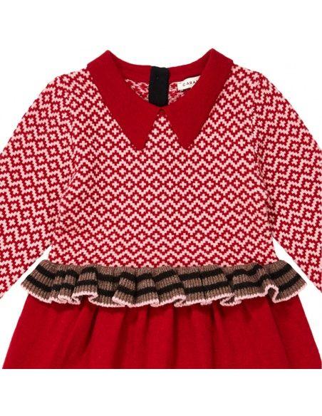 Caramel Baby & Child Sukienka Zeus czerwona