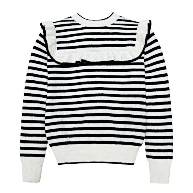 Abby pullover with stripes - The New Society