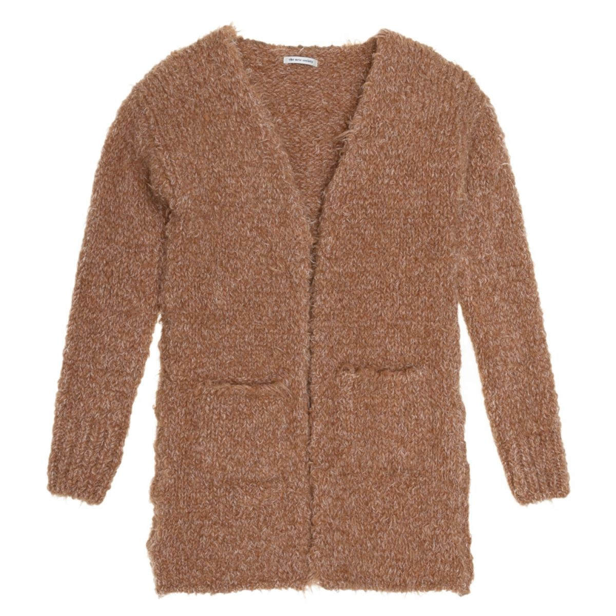 The New Society Saeide coat brown