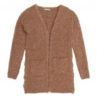 Płaszcz Saeide brązowy