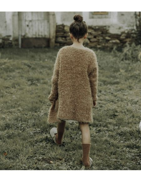 The New Society - Saeide sweater brown - 2