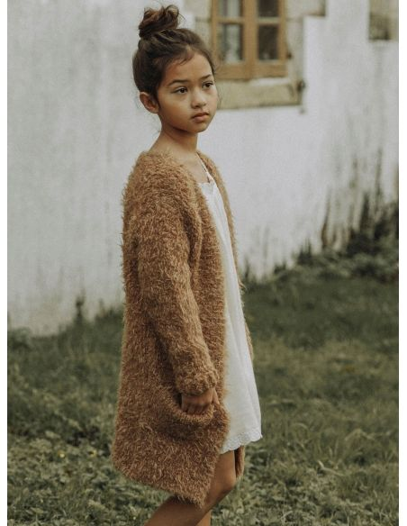 The New Society - Saeide sweater brown - 4