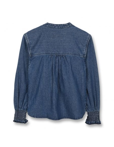 Finger in the nose Swindle Blouse Blue