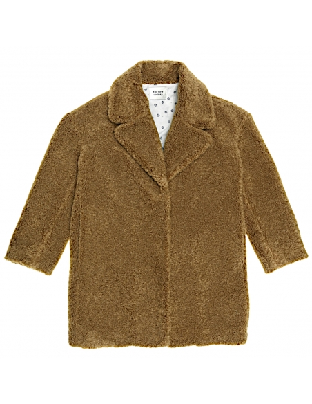 The New Society Freya coat brown