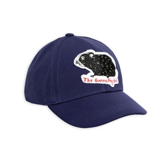 Guinea pig cap navy blue - Mini Rodini