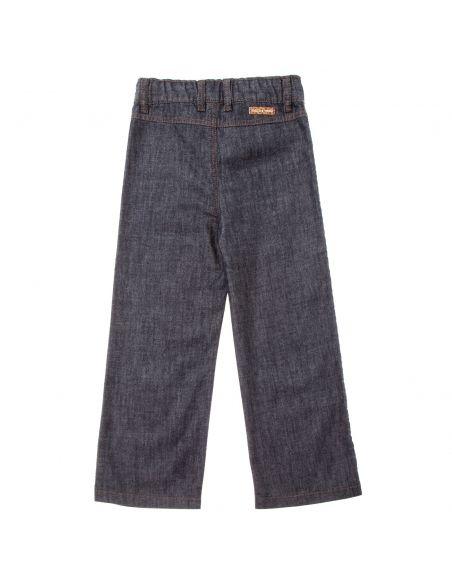 Tocoto Vintage Spodnie denim palazzo niebieskie