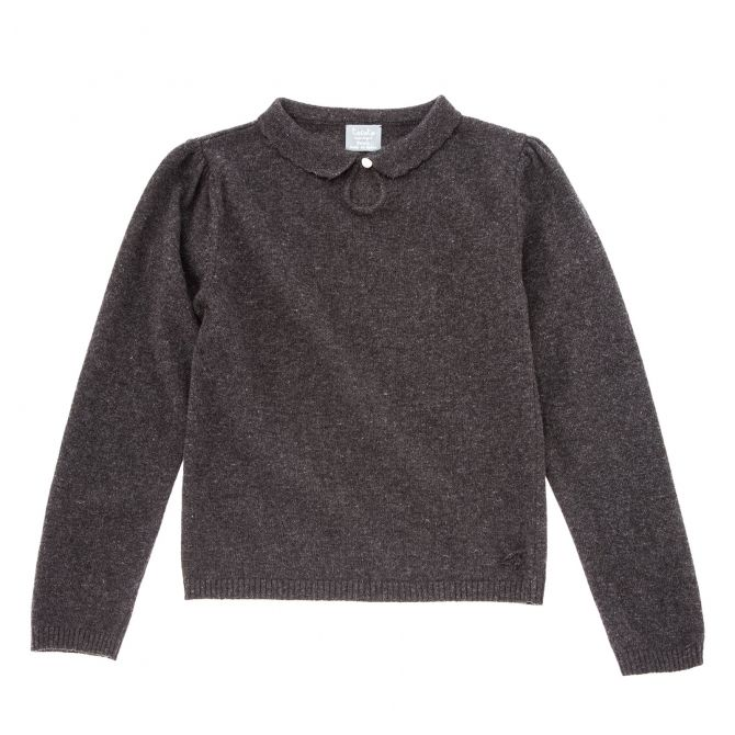 Knitted sweater black - Tocoto Vintage