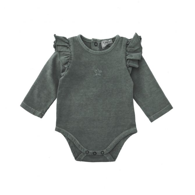 Plain jersey body grey - Tocoto Vintage