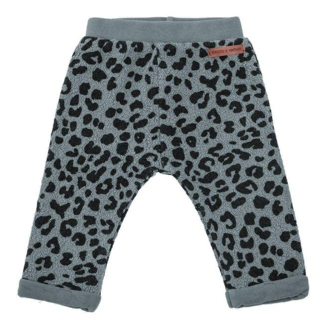 Spodnie animal print szare - Tocoto Vintage