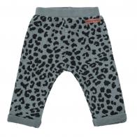Animal print pants grey