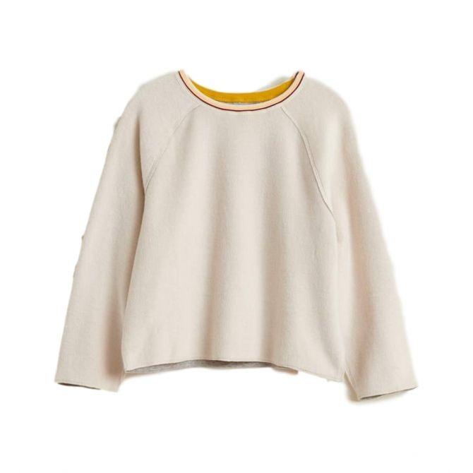 Sweatshirt Aycha ecru - Bellerose