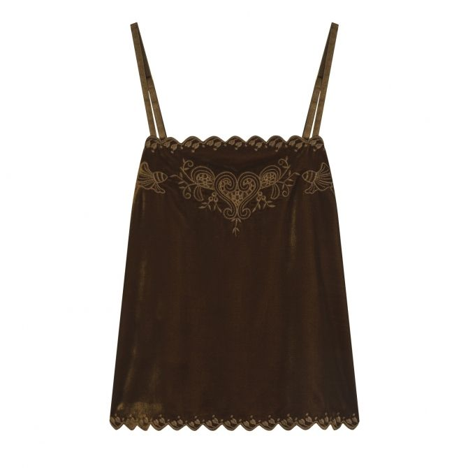 Louise Misha Top Tally brown