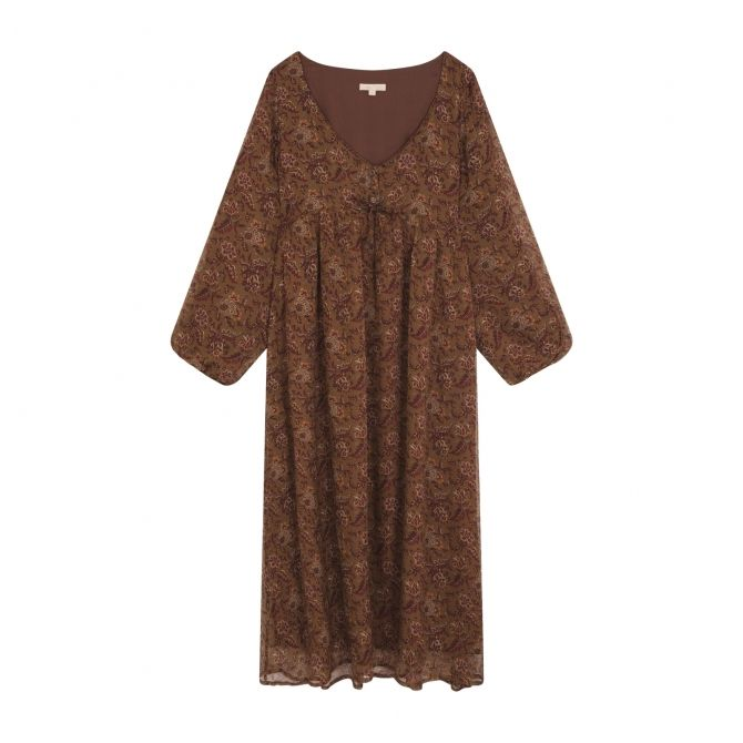 Dress Chala brown - Louise Misha