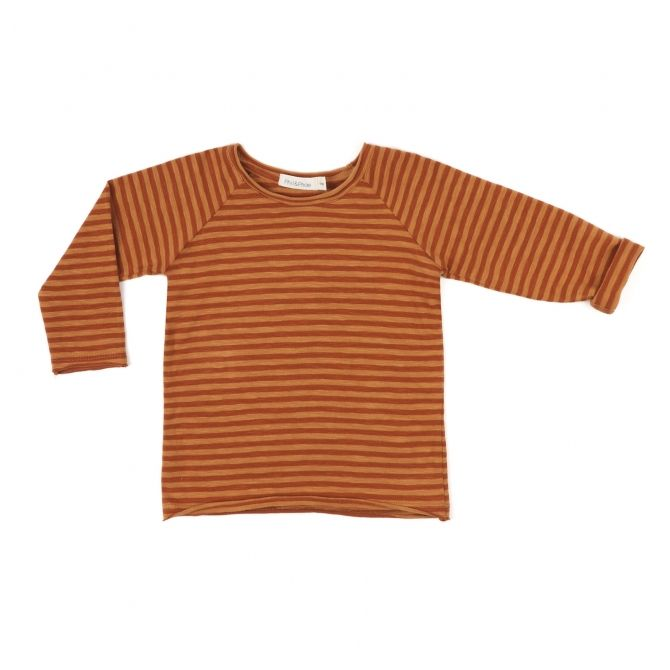 Phil & Phae Blouse reglan tee striped brown