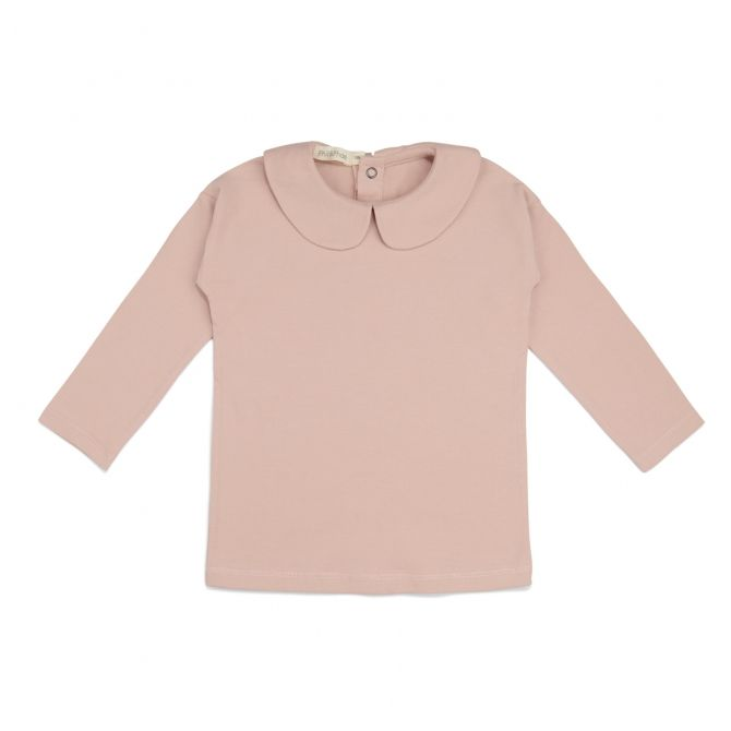 Phil & Phae Blouse collar tee pink