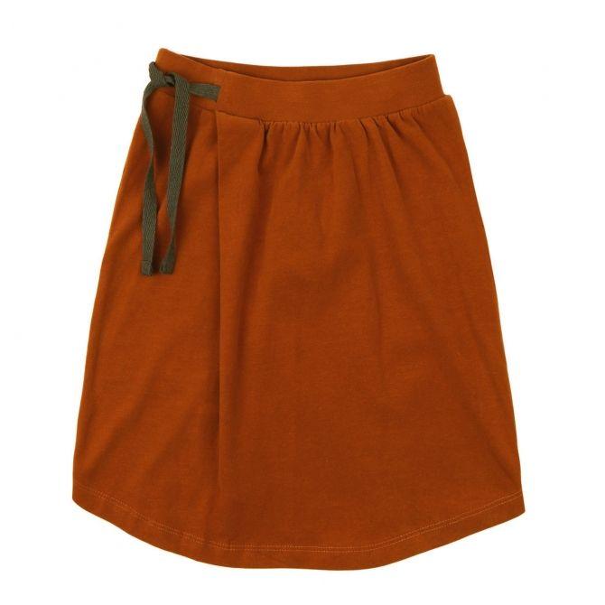 Phil & Phae Skirt midi orange