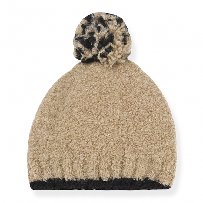 Lausanne beanie beige - 1 + in the family
