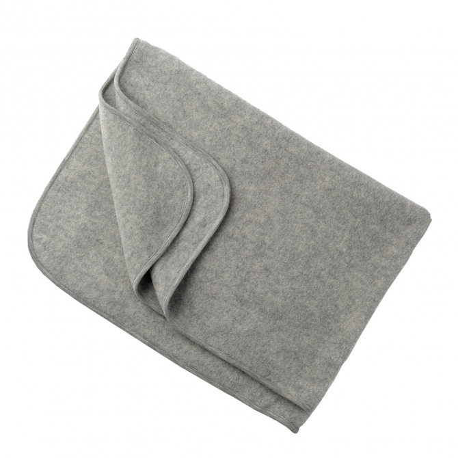 ENGEL Baby-blanket light grey melange