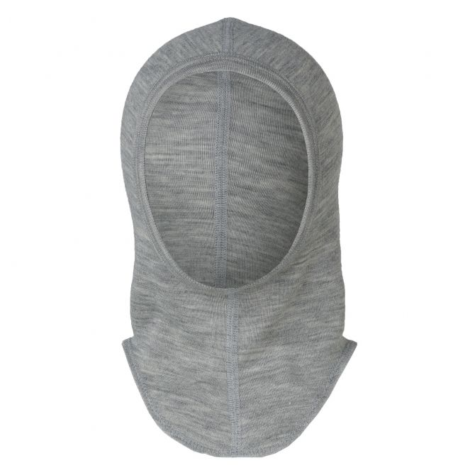 ENGEL Baby balaclava light grey melange