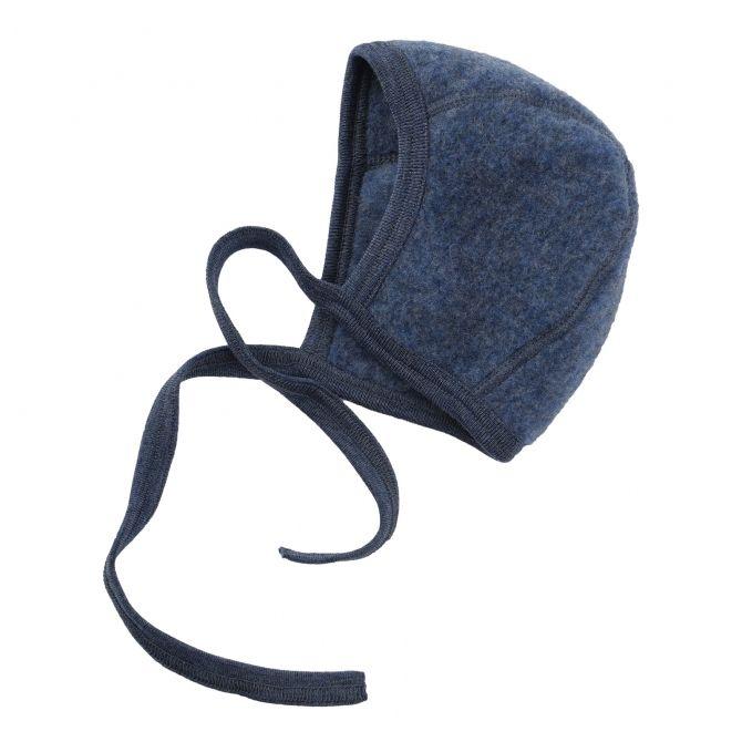 ENGEL Baby-bonnet blue melange
