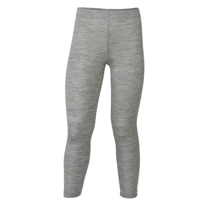 ENGEL Children's leggings light grey melange