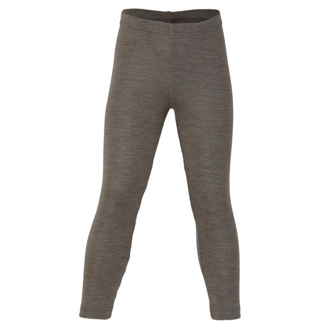 ENGEL Children's leggings walnut