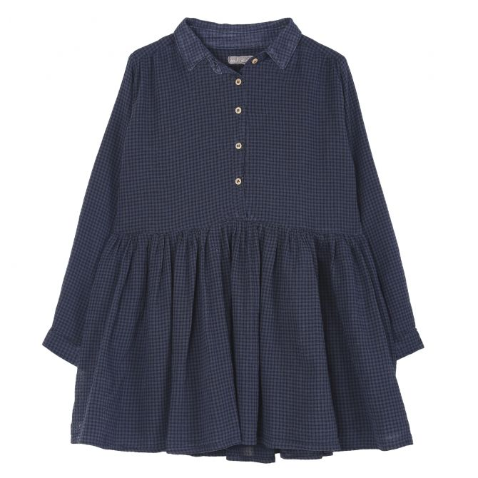Emile et Ida Dress Surteinte navy blue