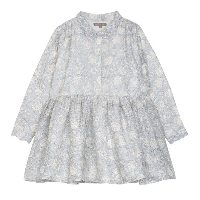 Emile et Ida Dress Pritned Flower multicolour