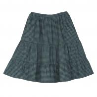 Spódnica Vichy zielona
