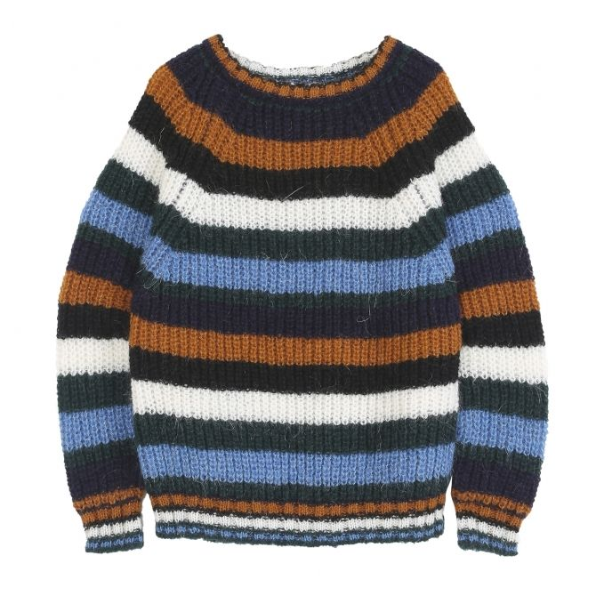 Pullover Stripped blue - Emile et Ida