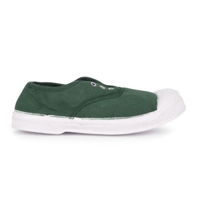 Trampki Kid Elly Sneakers butelkowa zieleń - Bensimon