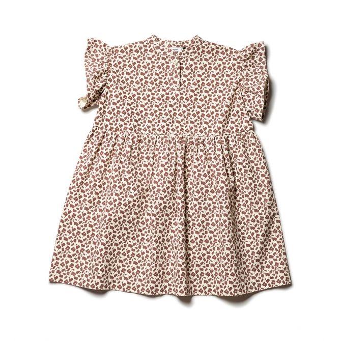 Wynken Sukienka frill sleeve dress wielobarwna