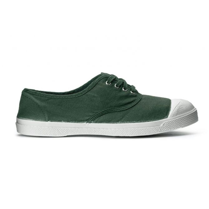 Lace sneakers ADULT salvia - Bensimon