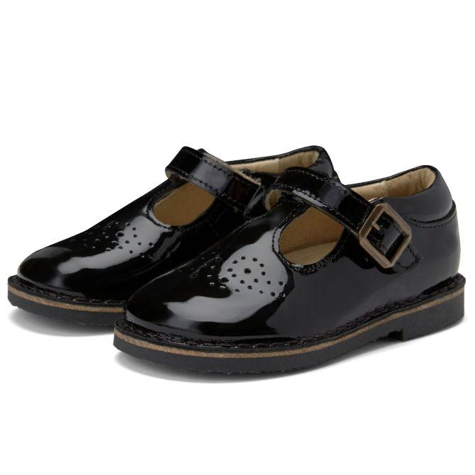 Półbuty Penny Patent Leather czarne lakierki - Young Soles