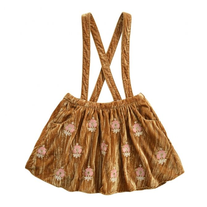 Louise Misha Yerupa Honey Skirt mustard
