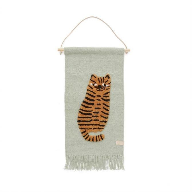 Dywanik na ścianę Tygrys - OYOY