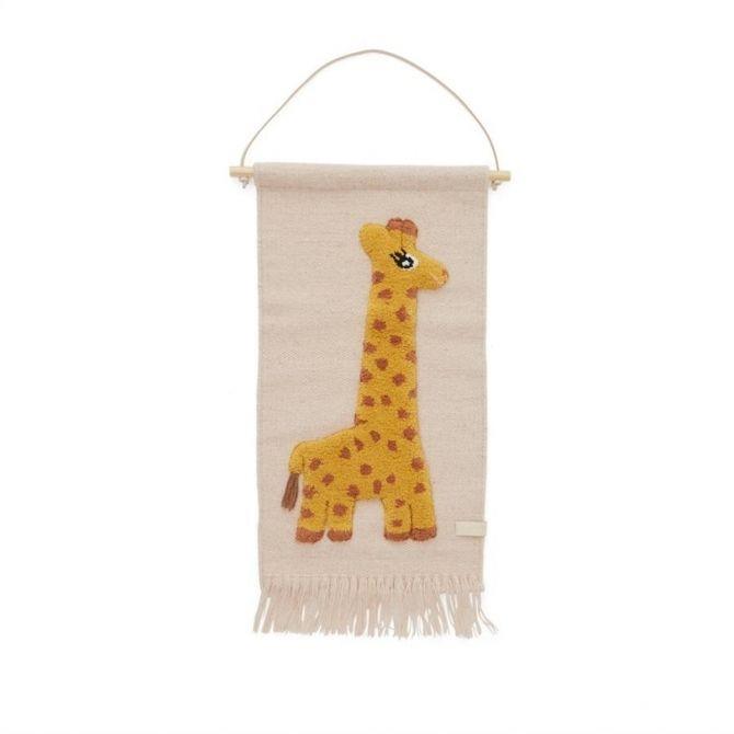 Giraffe Wallhanger - OYOY