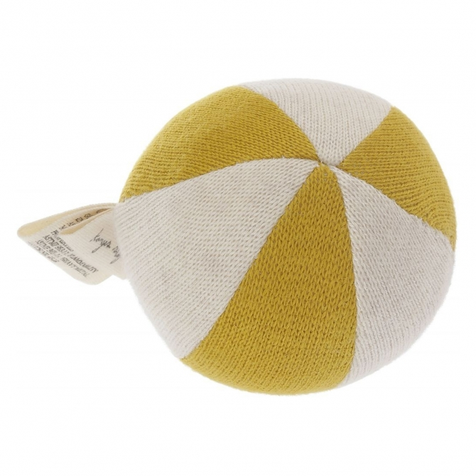 Petit toy ball mustard - Konges Slojd