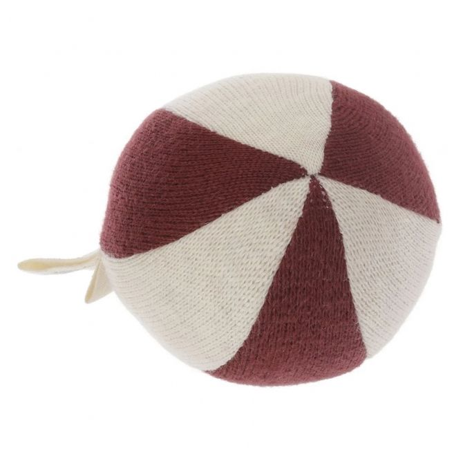 Konges Slojd Petit toy ball burgundy