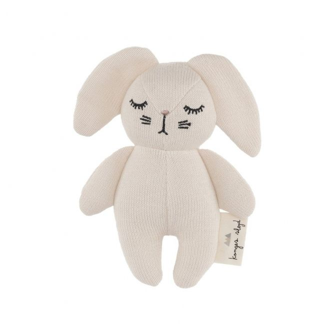 Konges Slojd Rattle Toy Mini Rabbit