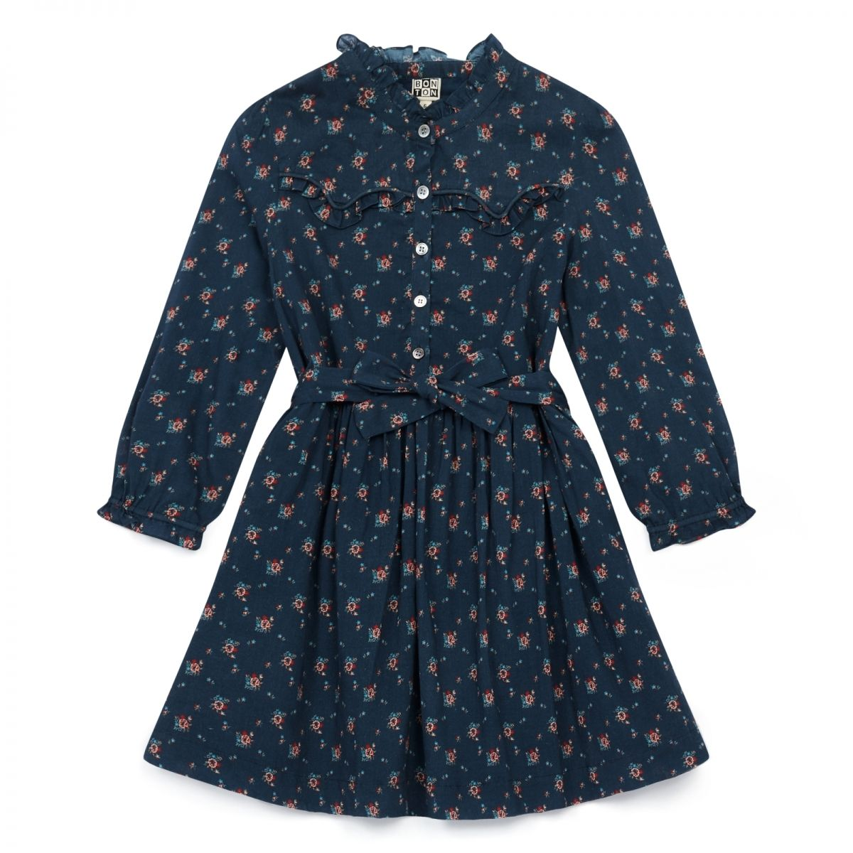 Bonton Dress Santacru navy