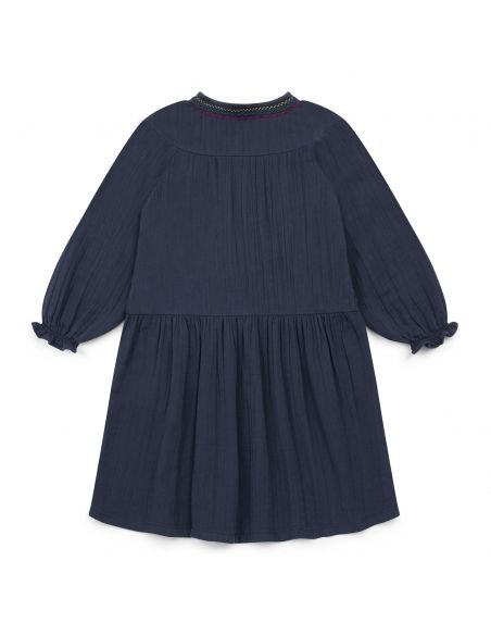 Bonton Dress Serena navy