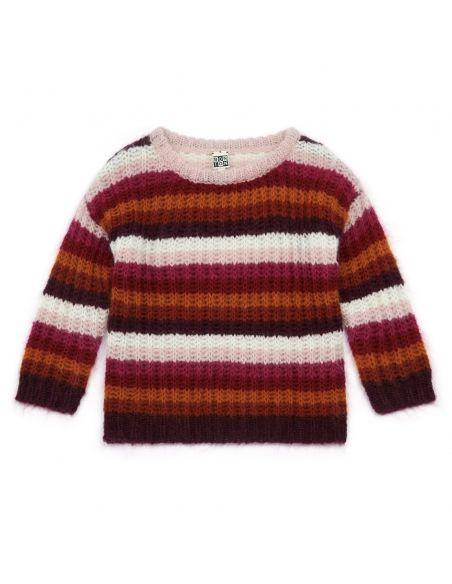 Bonton Sweter Montana wielobarwny