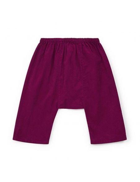 Bonton Spodnie Laotien różowe