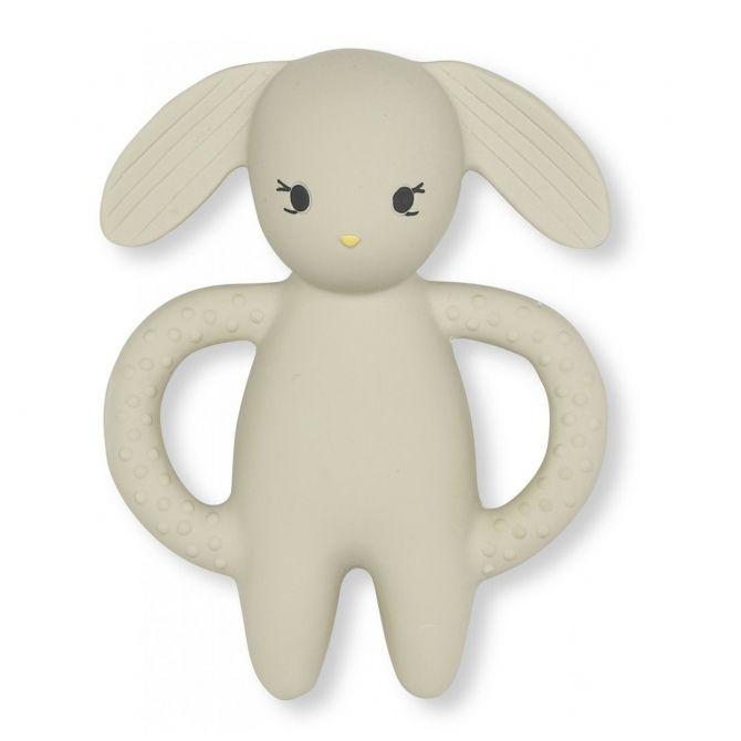 Gryzak królik Clay beżowy - Konges Slojd